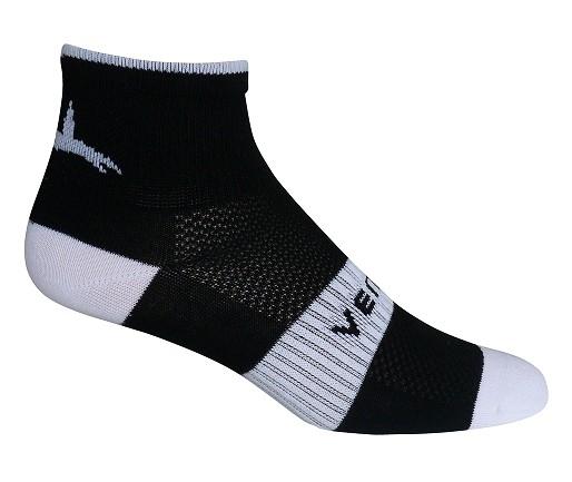 Ventoux Coolmax Bike Socks, black&white | Socks