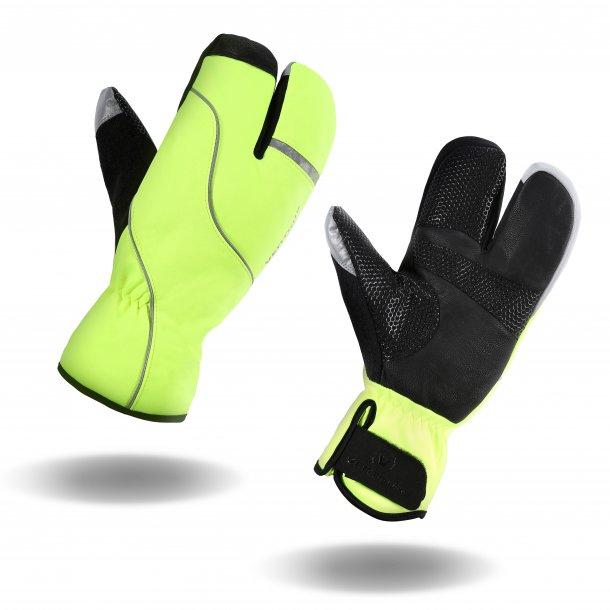 Ventoux Lobster 3-finger vinterhandske, neon | Gloves