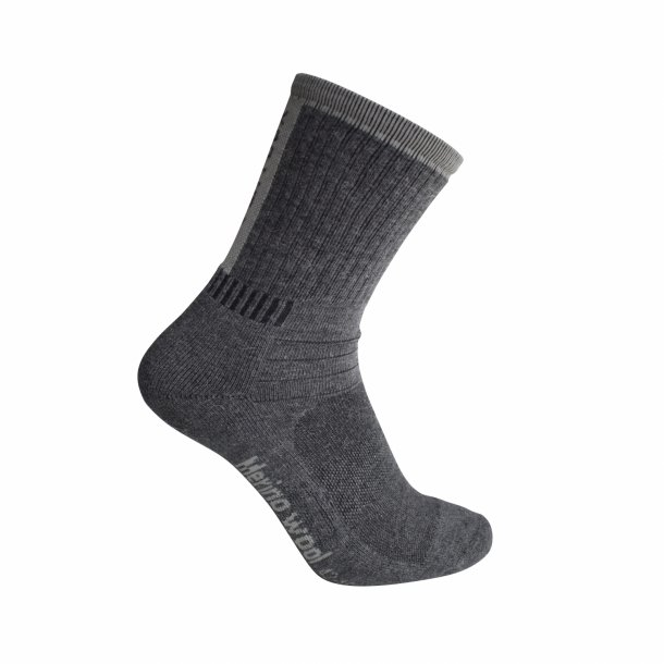 Ventoux Merino Bike Socks, grå