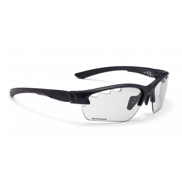 Ventoux Pro Vision cykelbrille, Fotochrome, mat sort | Glasses