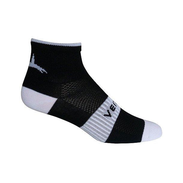 Ventoux Coolmax Bike Socks, black&white