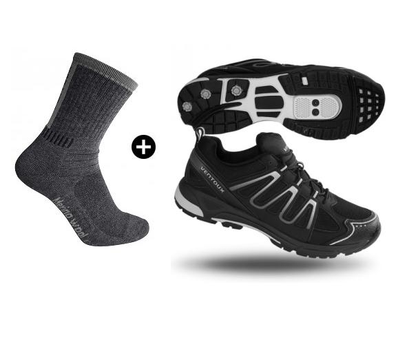 Ventoux New Freestyle + Merino Bike Socks | Strømper