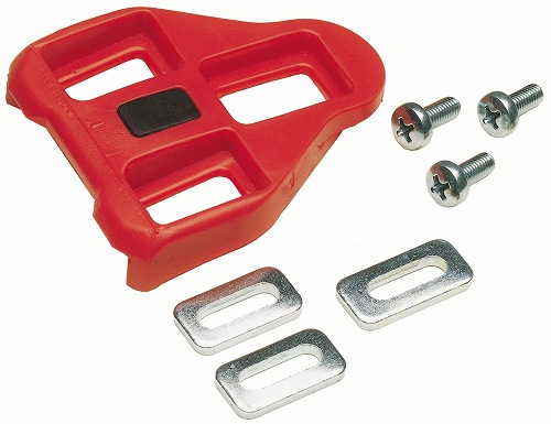 Look Delta kompatible klamper, røde | Klamper
