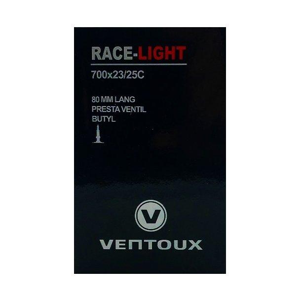 Ventoux race slange LIGHT 700x23/25C, 80 mm ventil