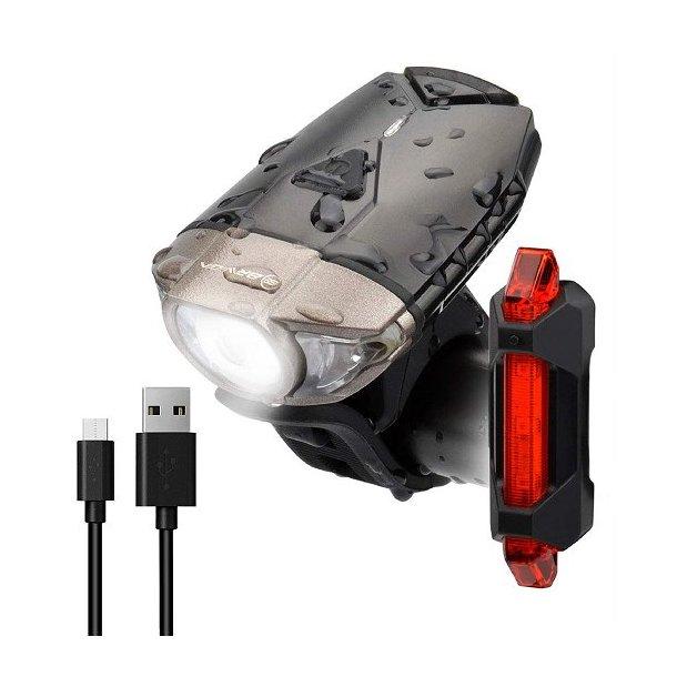 Ventoux Braviga USB lygtesæt 380 +15 lumen