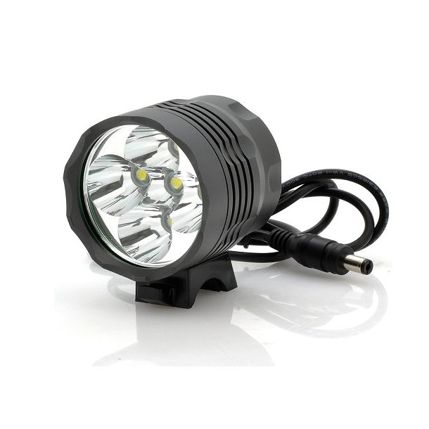 Ventoux High Power LED cykellygte, 2500 Lumen, sort