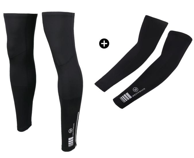 Ventoux Race Thermal Arm & Leg Warmers, Sort | Arm- og benvarmere