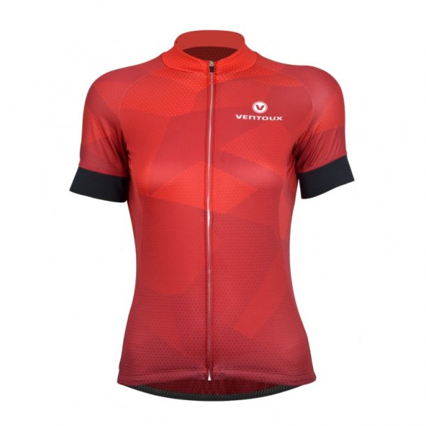 Ventoux Dragon Lady Jersey, Red