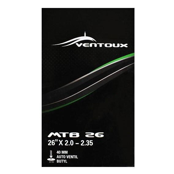 Ventoux MTB cykelslange, AUTO, 26 x 2.0 - 2.35 | Slanger