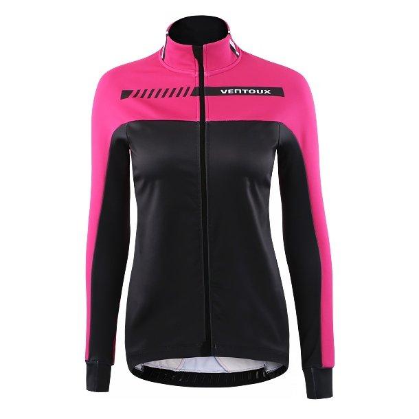 Ventoux Nordic Race jacket, sort/pink, Woman | Jakker