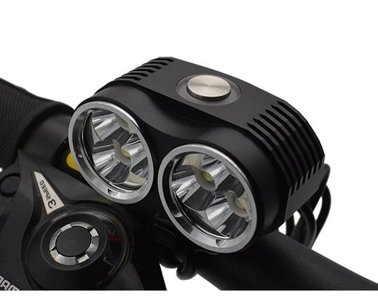 Ventoux High Power LED cykellygte, 4000 Lumen | Forlygter