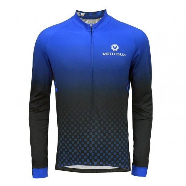 Ventoux Thermal LS jersey, black/blue