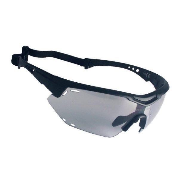 Ventoux Titan Fotochrome cykelbrille, mat sort